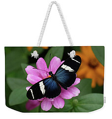 Sara Longwing Butterfly Weekender Tote Bag