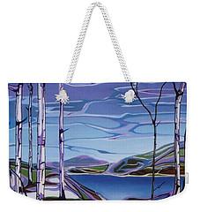 Sardi Lake Weekender Tote Bag by Pat Purdy