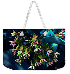 Satin Weekender Tote Bag by Elfriede Fulda