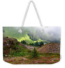 Sauk Mountain Lake Weekender Tote Bag
