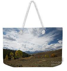 Sawtooth Skies Weekender Tote Bag