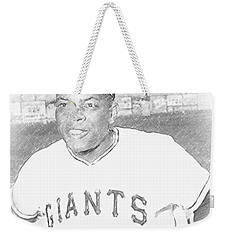 Willie Mays Weekender Tote Bag