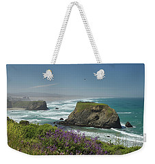 Sea Stacks And Surf Weekender Tote Bag
