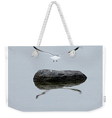 Seagull In Flight Weekender Tote Bag
