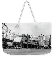 Weekender Tote Bag featuring the photograph Seaman Drake Arch  by Cole Thompson