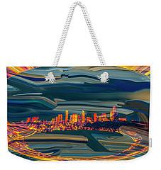 Seattle Swirl Weekender Tote Bag