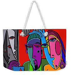Selfie Weekender Tote Bag