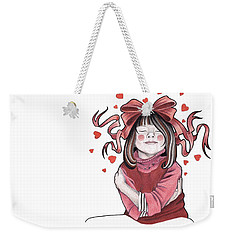 Selfie Weekender Tote Bag by Deadcharming Art