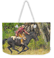 Seminole Indian Warrior Weekender Tote Bag