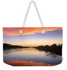 September Sunset Weekender Tote Bag