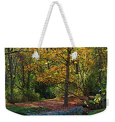 Weekender Tote Bag featuring the photograph Serenity by Nick Kirby
