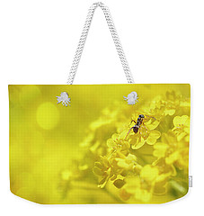 Set The Controls For The Heart Of The Sun Weekender Tote Bag by John Poon