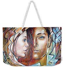 She Loves Me 140709 Weekender Tote Bag by Selena Boron