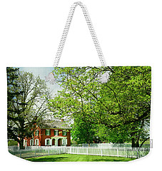 Sherfy House - Civil War Survivor Weekender Tote Bag by Paul W Faust - Impressions of Light