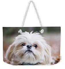 Shih Tzu Weekender Tote Bag
