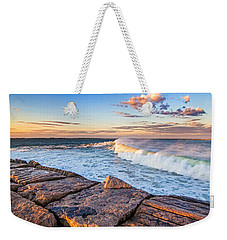 Shinnecock Inlet Surf Weekender Tote Bag