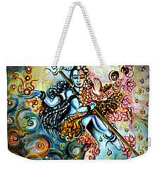 Shiva Shakti Weekender Tote Bag by Harsh Malik