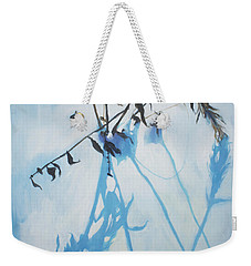 Silent Winter Weekender Tote Bag