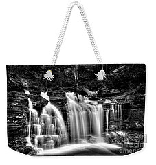 Silvery Falls Weekender Tote Bag by Paul W Faust - Impressions of Light