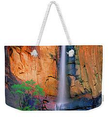 Sinawava Falls Weekender Tote Bag