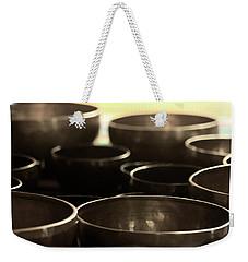 Singing Bowls Weekender Tote Bag