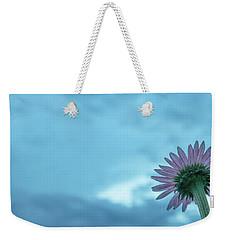 Single Garden Flower Weekender Tote Bag