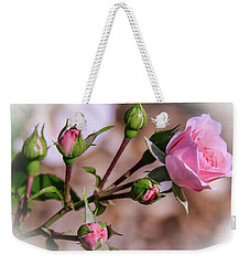 Single Rose22 Weekender Tote Bag
