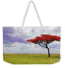 Single Tree Weekender Tote Bag by Charuhas Images