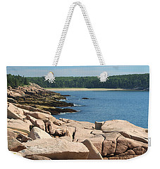 Weekender Tote Bag featuring the photograph Sit For Awhile by Living Color Photography Lorraine Lynch