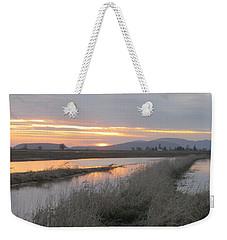 Skagit County Sunset Weekender Tote Bag