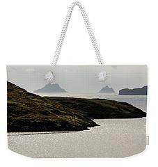 Skellig Islands, County Kerry, Ireland Weekender Tote Bag