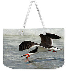 Skimming Weekender Tote Bag by Myrna Bradshaw