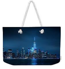 Skyline At Night Weekender Tote Bag