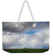 Weekender Tote Bag featuring the photograph Skyward by Laurie Search