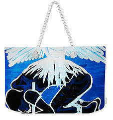 Slain In The Holy Spirit Weekender Tote Bag