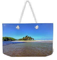 Slice Of Paradise Weekender Tote Bag by Nadia Sanowar