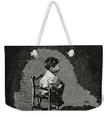 Small Boy Waiting Weekender Tote Bag