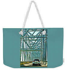 Weekender Tote Bag featuring the photograph Smile by Rhonda McDougall