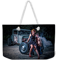 Smoke Weekender Tote Bag