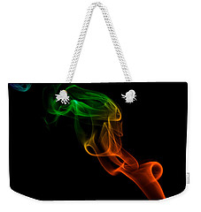 Weekender Tote Bag featuring the photograph smoke XXXIII by Joerg Lingnau