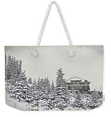 Snow In July Weekender Tote Bag by Teresa Zieba
