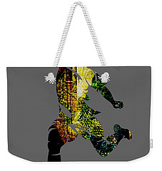 Soccer Collection Weekender Tote Bag by Marvin Blaine