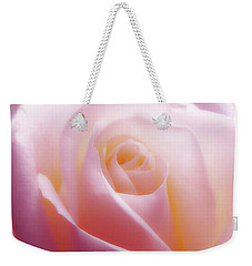 Soft Nostalgic Rose Weekender Tote Bag