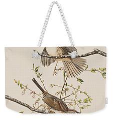 Song Sparrow Weekender Tote Bag