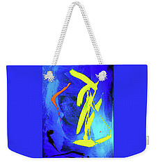 Weekender Tote Bag featuring the photograph Space Dance by Elf Evans