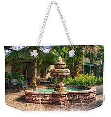 Spanish Fountain Weekender Tote Bag