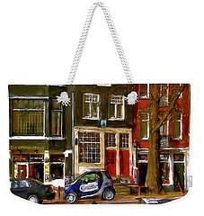 Spiegelgracht 6. Amsterdam Weekender Tote Bag