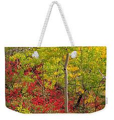Splash Of Autumn Weekender Tote Bag