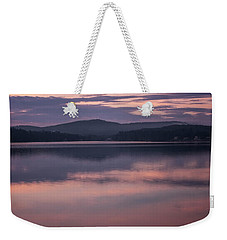 Spofford Lake Sunrise Weekender Tote Bag
