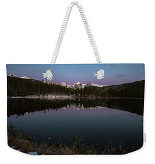 Sprague Lake Weekender Tote Bag